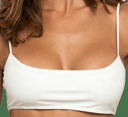 Avorio Seashells Bikini Top