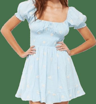 Baby Blue Belinda Dress