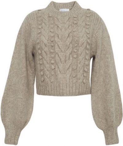 Beige Charlotte Sweater-Eleven Six