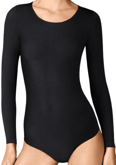 Black Berlin Bodysuit-Wolford