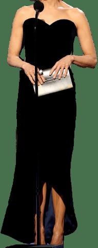 Black Custom Gown-Armani Privé