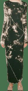 Black Dye Dress-Kim Shui