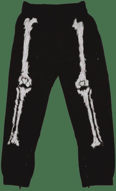 Black Glow In The Dark Pants-Bond