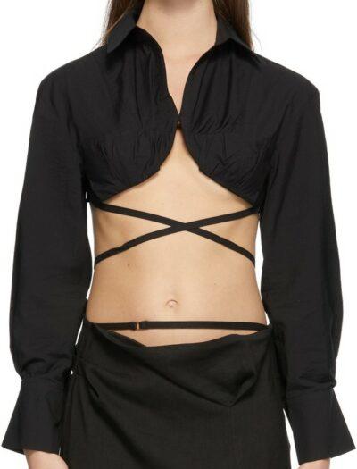 Black La Chemise Baci Shirt-Jacquemus