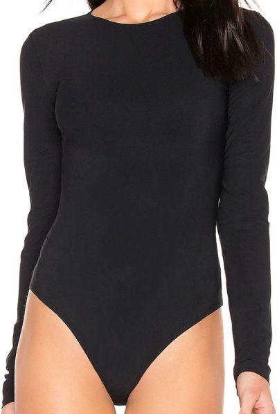 Black Leroy Bodysuit-ALIX NYC