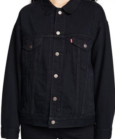Black Scorpio Dad Trucker Jacket