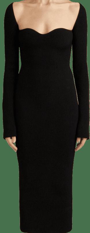 Black The Beth Dress