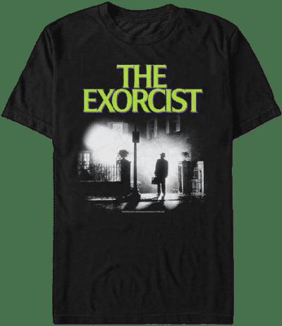 Black The Exorcist Portrait T-Shirt-PacSun