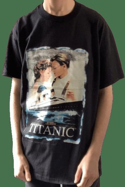 Black Titanic 1998 Original Promo Tee-Vintage