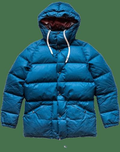 Blue Adventura Down Jacket