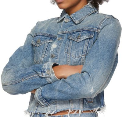 Blue Denim Cara Jacket-Grlfrnd