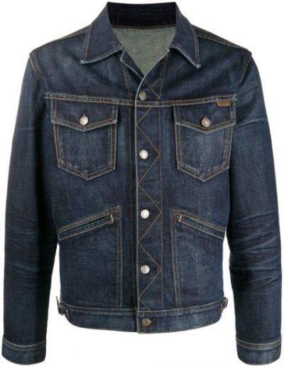 Blue Denim Jacket-Tom Ford