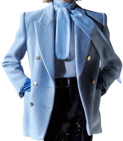Blue Fall 2020 Blazer