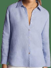 Blue Plain Shirt