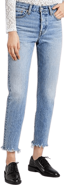 Blue Shut Up Wedgie Icon Fit Jeans-Levi's