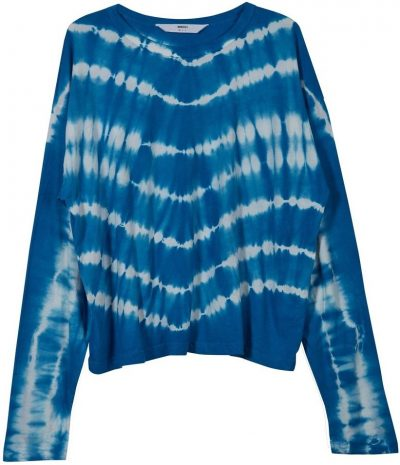 Blue Tuvalu Long Sleeve Tee-Mikoh