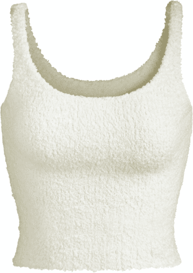 Bone Cozy Knit Tank