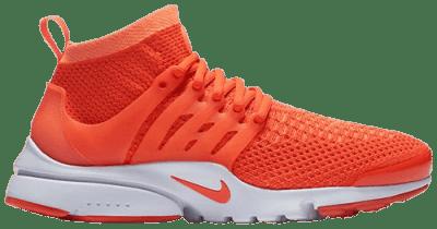 Bright Mango Air Presto Ultra Flyknit Shoes-Nike