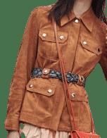 Brown Pre-Fall 2020 Jacket
