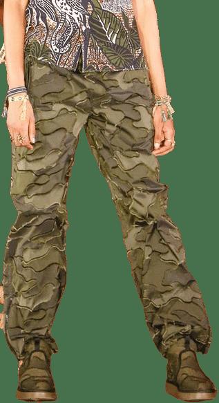 Camouflage Pants-Christian Dior