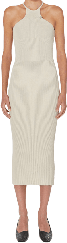 Classic Tan Ribbed Knit Tank Dress-1017 ALYX 9SM
