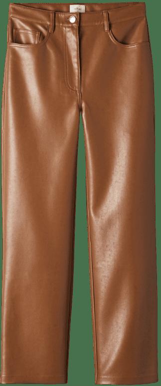 Cognac Melina Cropped Pants