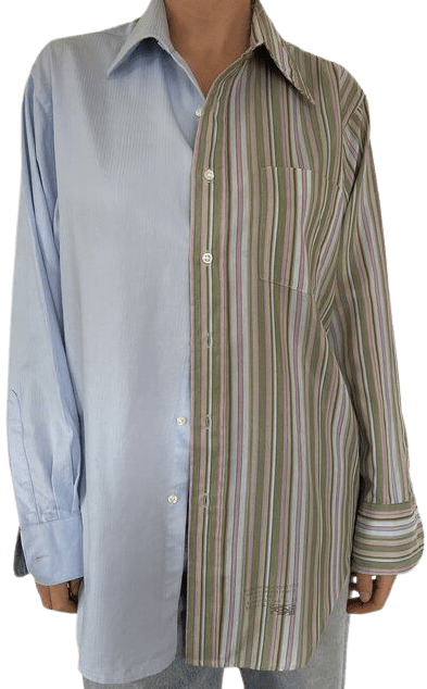 Contrasted Shirt-Havre Studio