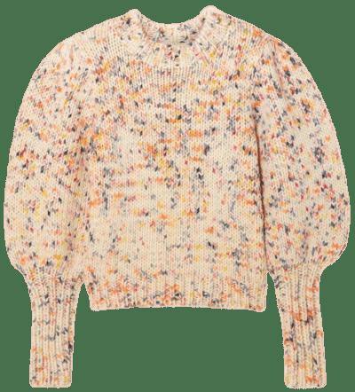 Cream Moxie Wool Sweater-Ulla Johnson