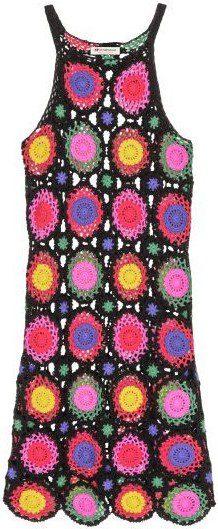 Crocheted Dress-H&M