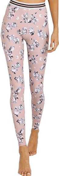 Floral Blush Olympus High-Waisted Leggings