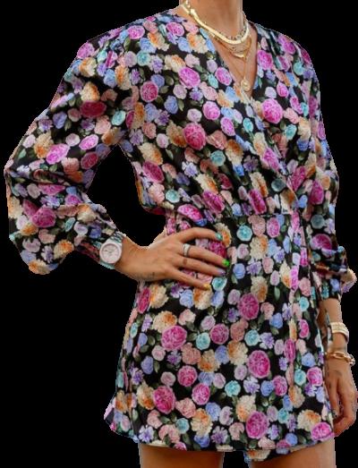 Floral Dolores Dress