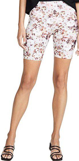 Floral Tiffany Bike Shorts-For Love & Lemons