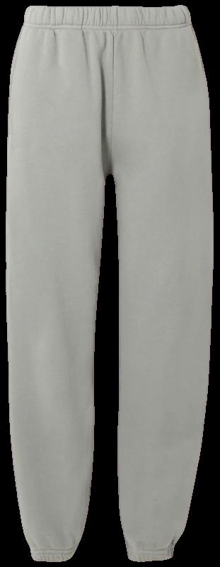 Gray Cotton-Jersey Track Pants-Les Tien