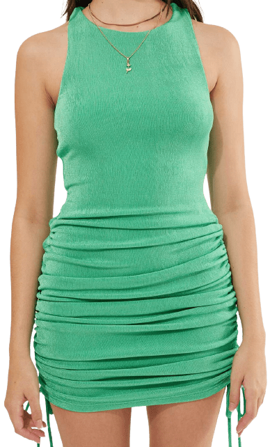 Green Charlotte Dress