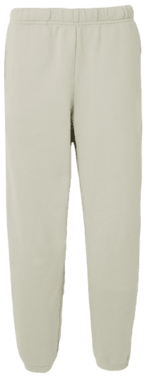 Green Cotton-Jersey Track Pants