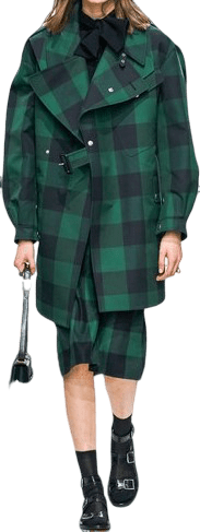 Green Fall 2019 Coat-Dior