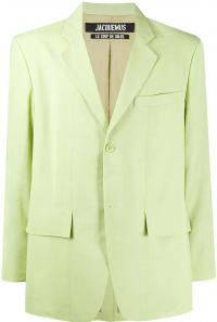 Green La Veste De Costume Blazer