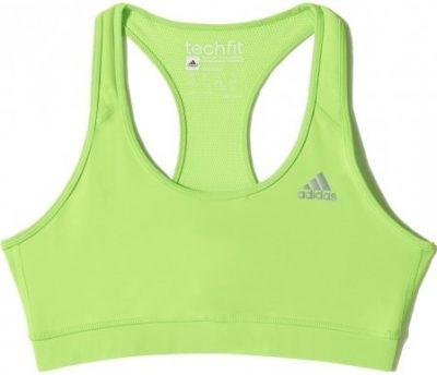 Green Techfit Bra-Adidas