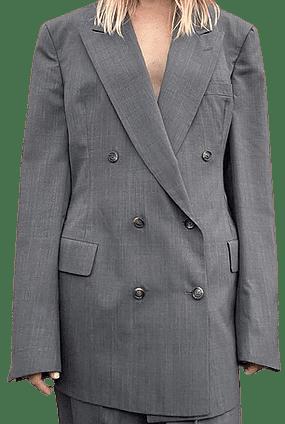 Greige Hourglass Suit