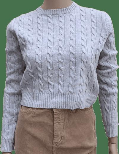 Grey Olsen Grey Sweater-Brandy Melville