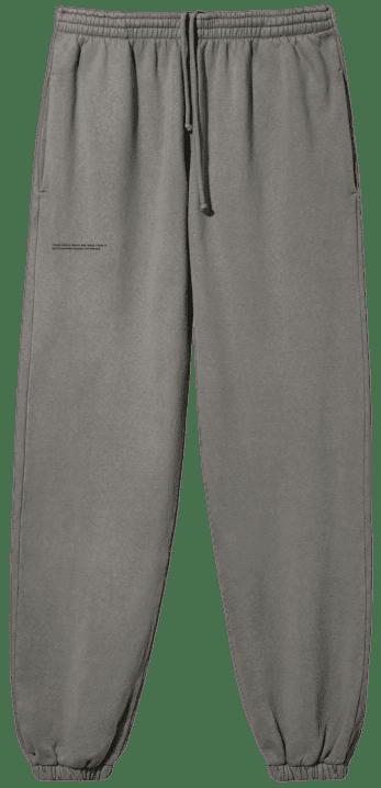 Grey Recycled Cotton Track Pants-Pangaia