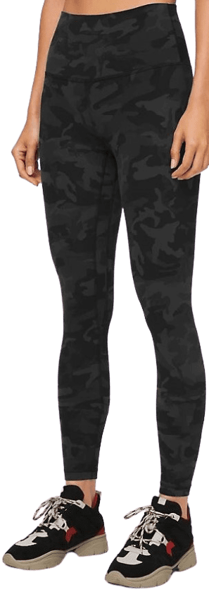 Lucy Hale Incognito Camo Multi Grey Align Pant Lululemon The Nines