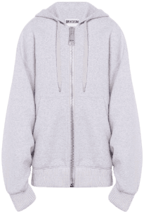 Light Grey Macro Cotton Sweatshirt