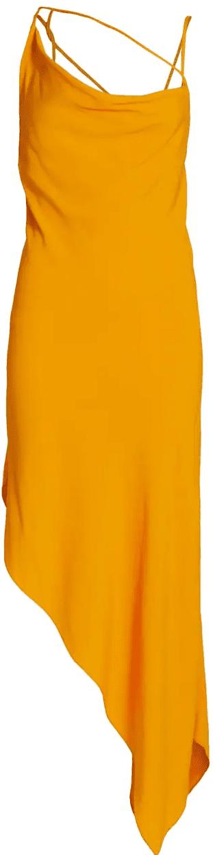 Marigold Criss Cross Slip Dress