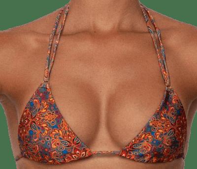 Moroccan Print Salome Bikini Top