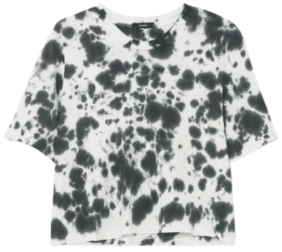 Motley Tie-Dyed T-Shirt-Bassike