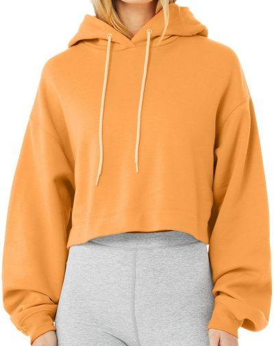 Neon Apricot Bae Hoodie-Alo Yoga
