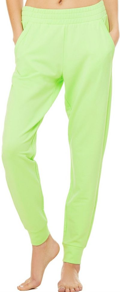 Neon Lime Unwind Sweatpants