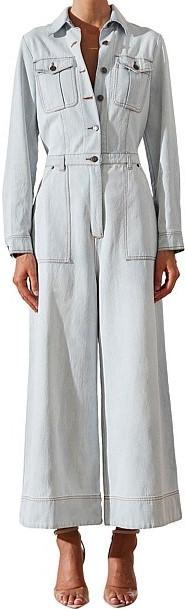 Noah Long Sleeve Jumpsuit-Shona Joy