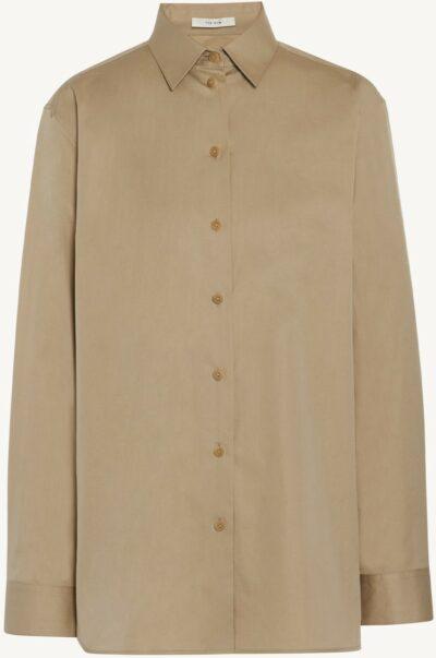 Pale Beige Cotton Sisilia Shirt-The Row